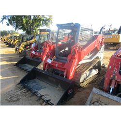TAKEUCHI TL10V-2 SKID STEER LOADER, VIN/SN:410000029 - CRAWLER, BUCKET, HIGH FLOW, CANOPY, METER REA