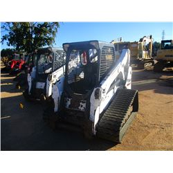 2012 BOBCAT T650 SKID STEER LOADER, VIN/SN:A3P014882 - CRAWLER, HIGH FLOW, CANOPY, METER READING 2,4