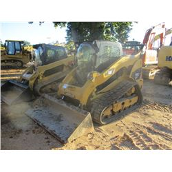 2010 CAT 299C SKID STEER LOADER, VIN/SN:JSP00868 - CRAWLER, BUCKET, TWO SPEED, HIGH FLOW, CAB, A/C,