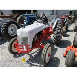 FORD FARM TRACTOR, - 11.2-28 TIRES, METER READING 46 HOURS
