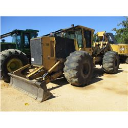 2015 TIGERCAT 620E SKIDDER, VIN/SN:6206541 - DUAL ARCH, WINCH, CAB, AC, 30.5-32 TIRES, METER READING