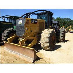 2015 CAT 535D SKIDDER, VIN/SN:MTP00115 - DUAL ARCH, WINCH, CAB, A/C, 30.5L-32 TIRES, METER READING 7