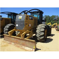 2015 CAT 525D SKIDDER, VIN/SN:GKP00173 - DUAL ARCH, WINCH, CAB, A/C, 30.5L-32 TIRES, METER READING 4