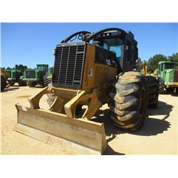 2011 CAT 525C SKIDDER, VIN/SN:52501286 - DUAL ARCH, WINCH, CAB, A/C, 30.5L-32 TIRES, METER READING 1