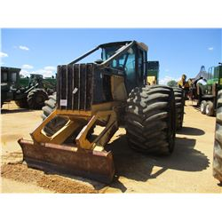 2000 JOHN DEERE 648G III SKIDDER, VIN/SN:577449 - SINGLE ARCH, WINCH, CAB, A/C, METER READING 18,103