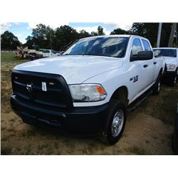 2015 DODGE RAM 2500 PICK UP, VIN/SN:3C6TR5CT8FG585671 - 4X4, EXTENDED CAB, V8 GAS ENGINE, A/T, ODOME
