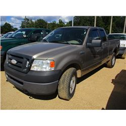 2006 FORD F150XL PICKUP, VIN/SN:1FTPX14V96NB01880 - 4X4, EXTENDED CAB, GAS ENGINE, A/T, ODOMETER REA