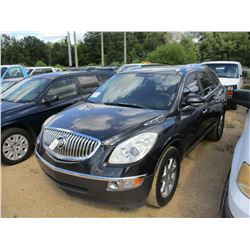 2008 BUICK ENCLAVE VIN/SN:5GAER23748J230146 - GAS ENGINE, A/T, ODOMETER READING 127,989 MILES