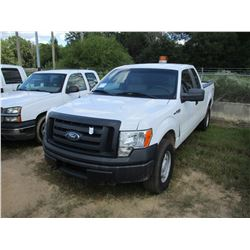 2010 FORD F150 PICKUP, VIN/SN:1FTFX1EV5AFB11299 - 4X4, EXT CAB, GAS ENGINE, A/T, ODOMETER READING 18