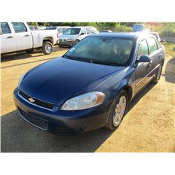 2006 CHEVROLET IMPALA VIN/SN:2G1WC581969154354 - GAS ENGINE, A/T, ODOMETER READING 156,625 MILES