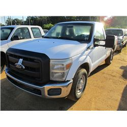 2011 FORD F350 PICKUP, VIN/SN:1FTBF3A68BEB33199 - GAS ENGINE, A/T, ODOMETER READING 167,037 MILES