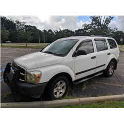 2006 DODGE DURANGO VIN/SN:1DAHD38N66F155024 - GAS ENGINE, A/T (COUNTY OWNED) (SELLING OFFISTE LOCATE