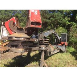 2000 PRENTICE 410E LOG LOADER, VIN/SN:573333 - A/C, CTR 450 DELIMBER, MTD ON T/A TRAILER (SELLING OF