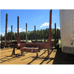 1978 LOG TRAILER, VIN/SN:6234 - 4 BOLSTER (BILL OF SALE ONLY)