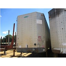2003 PEERLESS CHIP TRAILER, VIN/SN:1PLE040283PL531458 - T/A, CLOSED TOP, 40' LENGTH, HALF GATE, 11R2