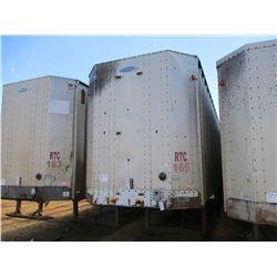 2001 PEERLESS CHIP TRAILER, VIN/SN:1PLE04021XPC26086 - T/A, CLOSED TOP, 40' LENGTH, HALF GATE, 11R24