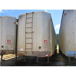 1993 PEERLESS CHIP TRAILER, VIN/SN:1PLE04021PPA12855 - T/A, CLOSED TOP, 40' LENGTH, HALF GATE, 11R24