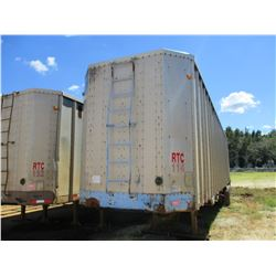 1991 PEERLESS CHIP TRAILER, VIN/SN:1PLE0402XMPB60900 - T/A, CLOSED TOP, 40' LENGTH, HALF GATE, 11R24