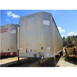 2007 PEERLESS 45-CTSSF CHIP TRAILER, VIN/SN:1PLE04527PB55008 - T/A, 45' LENGTH, WALKING FLOOR, ENCLO