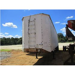 1989 KENTUCKY CHIP TRAILER, VIN/SN:1KKVA4221KL084474 - T/A, 45' LENGTH, HALF GATE, TARP