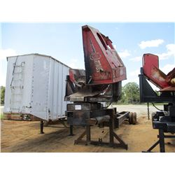 PITTS LOG LOADER TRAILER, VIN/SN:600 - T/A, CTR 320 DELIMBER