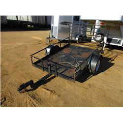 "TAG TRAILER, - 60"" X 92"", RAMP, 205/75D14 TIRES (C1)"