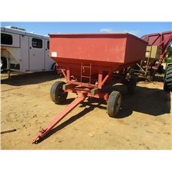 GRAIN WAGON W/SIDE HOPPER, (C1)