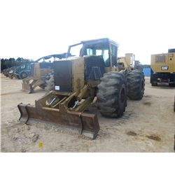 2004 TIGERCAT 620 SKIDDER, VIN/SN:6200403 - SINGLE ARCH, WINCH, CAB, A/C, 28L-26 TIRES, METER READIN