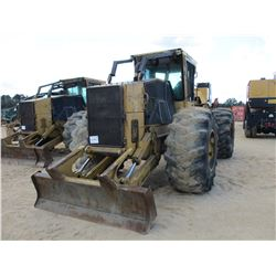 2000 TIGERCAT 620 SKIDDER, VIN/SN:6200182 - SINGLE ARCHM, WINCH, CAB, A/C, 30.5L-32 TIRES, METER REA