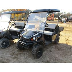 2015 EZ GO TERRAIN 250 ATV, VIN/SN:3095268 - SIDE BY SIDE, GAS ENGINE, WINDSHIELD, CANOPY, DUMP BED,