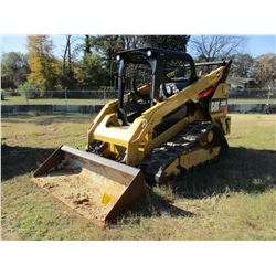 2016 CAT 289D SKID STEER LOADER, VIN/SN:TAW05664 - CRAWLER, BUCKET, CANOPY, TWO SPEED, REAR COUNTER