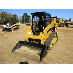 2016 CAT 259D SKID STEER LOADER, VIN/SN:FTL07342 - CRAWLER, BUCKET, CANOPY, METER READING 624 HOURS