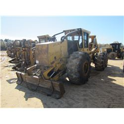 TIGERCAT 635C BOGIE SKIDDER, VIN/SN:6350502 - DUAL ARCH, WINCH, CAB, A/C, 30.5L-32 TIRES, METER READ