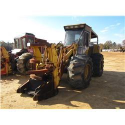 HYDRO AX 411EX FELLER BUNCHER, VIN/SN:7168 - KOHERING WATEROUS SAW HEAD, CAB, A/C, 28L-26 TIRES