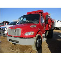 2005 FREIGHTLINER BUSINESS CLASS M2 DUMP, VIN/SN:1FUBCYDC65HU27171 - S/A, 300 HP CAT DIESEL ENGINE,