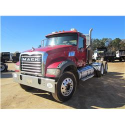 2007 MACK CTP713 GRANITE TRUCK TRACTOR, VIN/SN:1M1AT04Y77M003931 - DAY CAB, T/A, MP7-40SM, ALLISON A