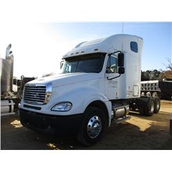 2006 FREIGHTLINER COLUMBIA TRUCK TRACTOR, VIN/SN:1FUJA6CKXGLV30834 - T/A, DETROIT DEISEL ENGINE, 10