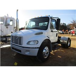 2007 FREIGHTLINER M2 TRUCK TRACTOR, VIN/SN:1FBCXDC27HY13485 - S/A, CAT C7 ENGINE, ALLISON A/T, 21K R