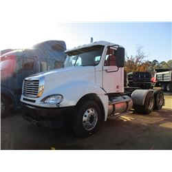 2007 FREIGHTLINER TRUCK TRACTOR, VIN/SN:1FUJA6CK97LX43159 - T/A, DETROIT SERIES 60, 10 SPEED, 40K RE