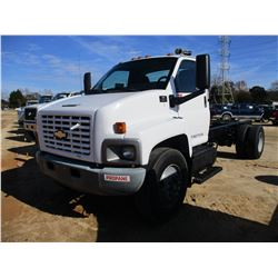 2006 CHEVROLET C7500 CAB & CHASSIS, VIN/SN:1GBM7C1G96F423051 - GAS ENGINE, A/T, ODOMETER READING 236