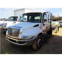 2008 INTERNATIONAL DURA STAR ROLLBACK TRUCK, VIN/SN:3HTMMAAL58N651652 - S/A, EXT CAB, MAXX FORCE DIE