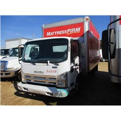 2008 ISUZU BOX TRUCK, VIN/SN:JALC4W16587004232 - S/A, ISUZA DIESEL ENGINE, A/T, 15' BOX BODY, ROLL U