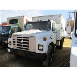 2011 INTERNATIONAL 1754 VAN TRUCK, VIN/SN:1HTAA1754BHA23977 - S/A, DIESEL ENGINE, 5 SPEED TRANS, 10.
