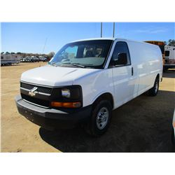 2008 CHEVROLET EXPRESS CARGO VAN, VIN/SN:1GCGG29K681136455 - GAS ENGINE, A/T, ODOMETER READING 73,61