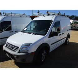 2012 FORD TRANSIT CONNECT VIN/SN:NM06S7AN5CT084827 - CNG GAS ENGINE, A/T, ODOMETER READING 36,684 MI