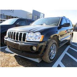 2008 JEEP GRAND CHEROKEE TRAIL RATED LIMITED EDITION, VIN/SN:1J8HR58275C622900 - 4X4, V8 GAS, A/T, O