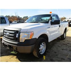 2012 FORD F150 PICK UP, VIN/SN:1FTMF1EF9CFA06190 - 4X4, GAS ENGINE, A/T, ODOMETER READING 176,641 MI