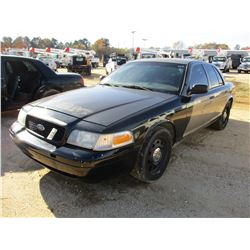 2008 FORD CROWN VICTORIA VIN/SN:2FAFP71V78X154166 - V8 GAS ENGINE, A/T (COUNTY OWNED)