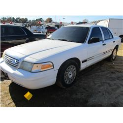 2006 FORD CROWN VICTORIA VIN/SN:2FAFP73V26X130755 - V8 GAS ENGINE, A/T (COUNTY OWNED)