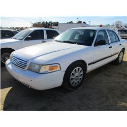 2006 FORD CROWN VICTORIA VIN/SN:2FAFP73V66X130757 - V8 GAS ENGINE, A/T (COUNTY OWNED)